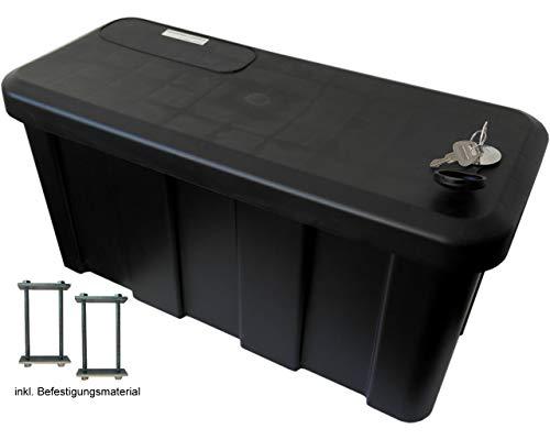 HGW Anhängerbox,Gurtkiste, Deichselbox 25 Liter, inkl....