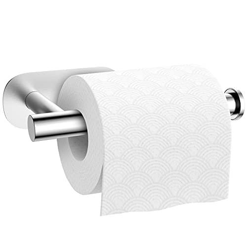 Toilettenpapierhalter ohne Bohren Klopapierhalter Selbstklebend...