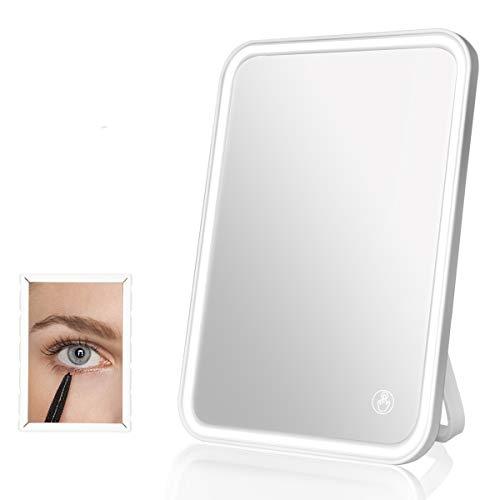 BENMA Kosmetikspiegel mit Touchscreen dimmbaren LED Licht & 5x Klein...