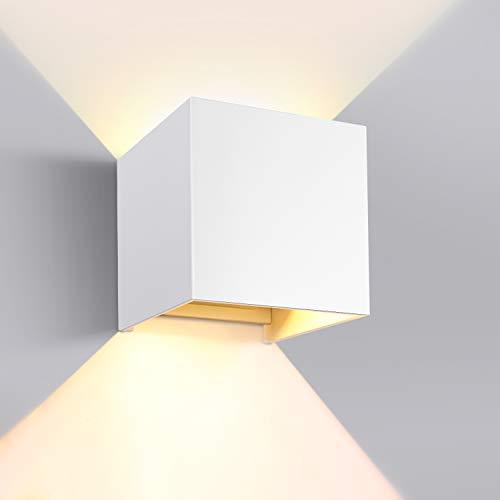 GHB 7W LED Wandleuchte Wandlampe mit einstellbar Abstrahlwinkel Design...