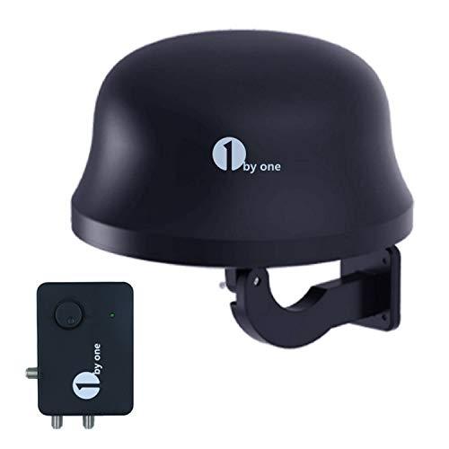 1byone 32db DVB-T/ T2 Antenne Digitale Zimmerantenne/Außenantenne mit...