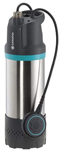 GARDENA Tauch-Druckpumpe 5900/4 inox: Tauchdruckpumpe mit 5900 l/h...