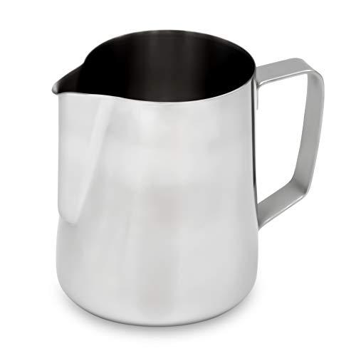 Lambda Coffee® Barista Espressokännchen 150ml | Hochglanz Edelstahl