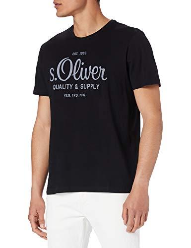 s.Oliver Herren T-Shirt, 9999 black, L
