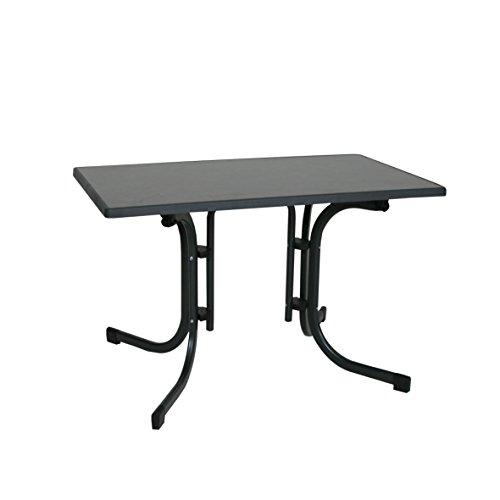 Ribelli Klapptisch Esstisch Gartentisch 110x70x70cm - klappbarer Tisch...