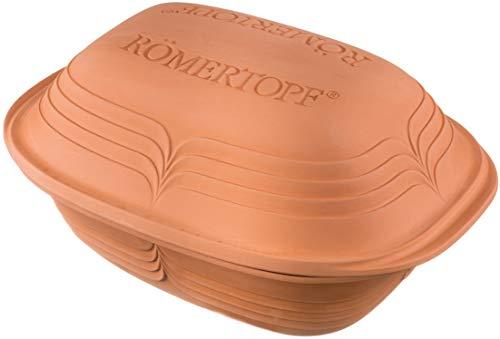 Römertopf Bräter Modern Look Keramik Dampfgarer 3 Liter, Modell...