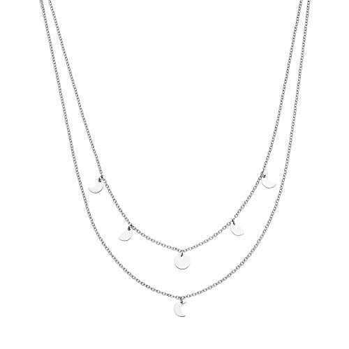 Purelei Halskette Luna (Luna-Silber) (35/40 cm Länge)