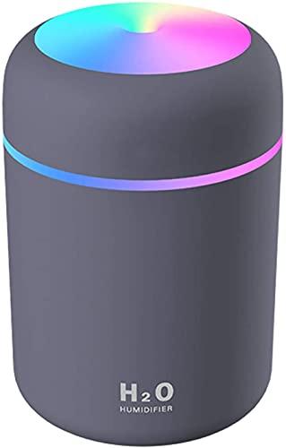 Luftbefeuchter, Mini USB Ultraschall Humidifier mit 300ml Wassertank,...