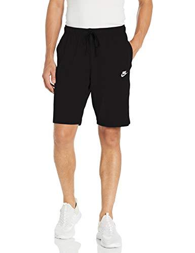Nike Herren M NSW CLUB SHORT JSY Sport Shorts, black/(white), S