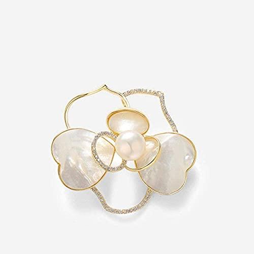 Broschen/Brosche Pins Pearl Corsage Weibliche Zubehör Kleine Blume...