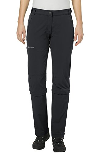 VAUDE Damen Hose Women's Farley Stretch Capri T-Zip II, Black, 44,...