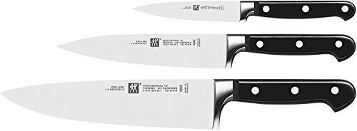 ZWILLING Messer-Set, 3-tlg., Spick-/Garniermesser, Fleischmesser,...