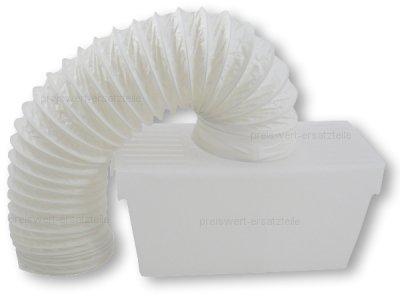 Kondensbox für Ablufttrockner, Trockner inkl. Abluftschlauch