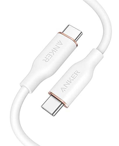 Anker PowerLine III Flow, USB-C auf USB-C Ladekabel 100W 90cm, Typ-C...