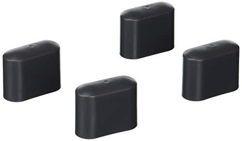 Greemotion Fußkappen set , Kunststoff 4-tlg, dunkelgrau, ca. 4,15 x...