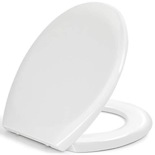 Pipishell Toilettendeckel, WC Sitz mit Absenkautomatik,...