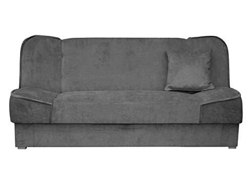 Mirjan24 Schlafsofa Gemini mit Bettkasten, 3 Sitzer Sofa, Couch mit...