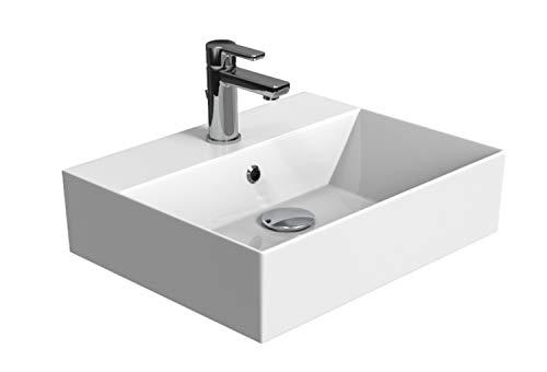 Aqua Bagno | Design Waschbecken Hängewaschbecken Aufsatzwaschbecken...