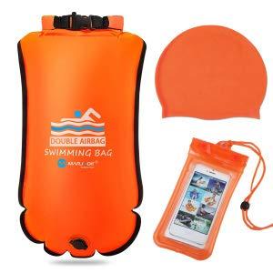 Schwimmboje 20L, Sicherheit beim Schwimmen, Open Water und Triathlon...
