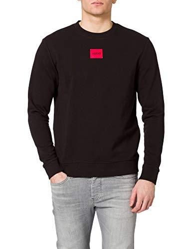 HUGO Herren Diragol212 Pullover, Black1, XL