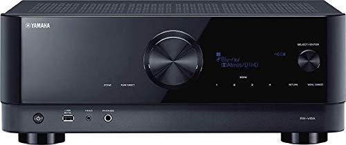 Yamaha AV-Receiver RX-V6A schwarz – Netzwerk-Receiver mit Dolby...