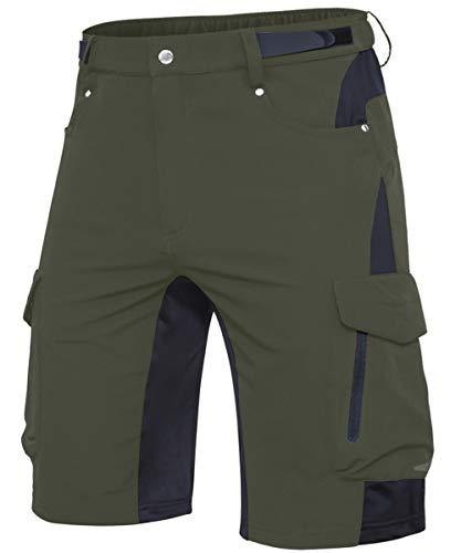 Cycorld MTB Hose Herren Fahrradhose, Schnelltrocknende MTB Shorts...