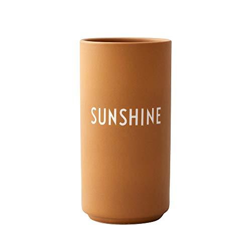 Design Letters Lieblingsvase, Sunshine (Senffarben) - Dekorative Vase...