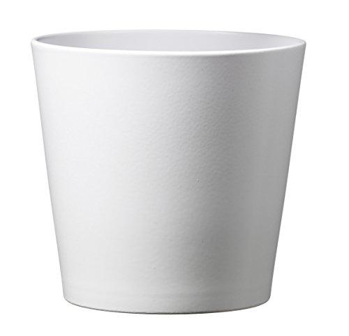 Soendgen Keramik Blumenübertopf, Dallas Esprit, weiß, 16 x 16 x 15...