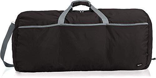 Amazon Basics - Seesack / Reisetasche, groß, 98 l, Schwarz