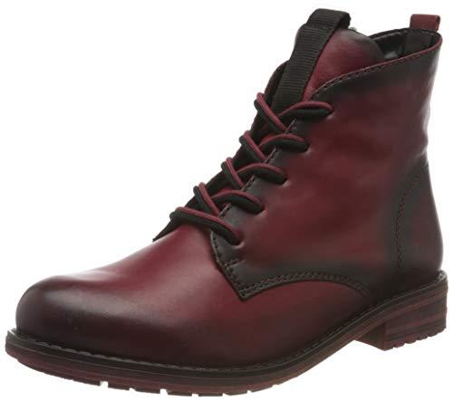 Remonte Damen R5077 Mode-Stiefel, mohn/mohn / 35, 38 EU