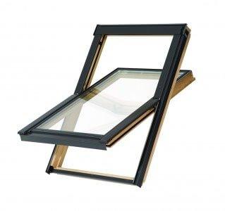 Dachfenster Balio Schwingfenster mit Eindeckrahmen 78x112 cm (VKR...