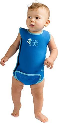 Cressi Infant Baby Warmer - Kinder Neopren Schwimmanzug, Blau, 6/12...
