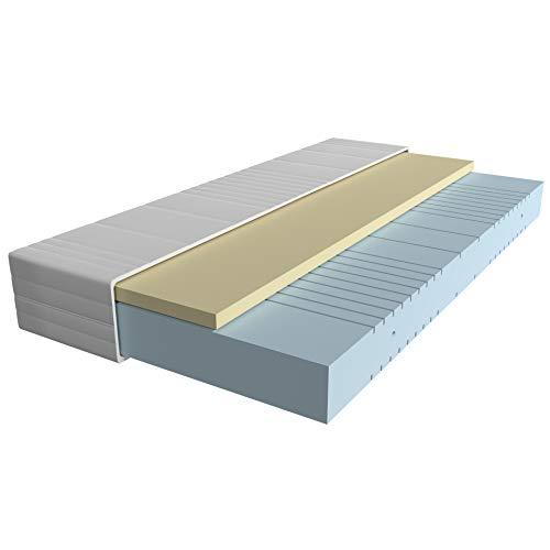AM Qualitätsmatratzen - Visco-Matratze 140x200cm -H3 - Hochwertige...