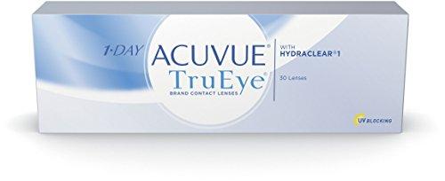 Acuvue 1-Day TruEye Tageslinsen weich, 30 Stück / BC 8.5 mm / DIA...