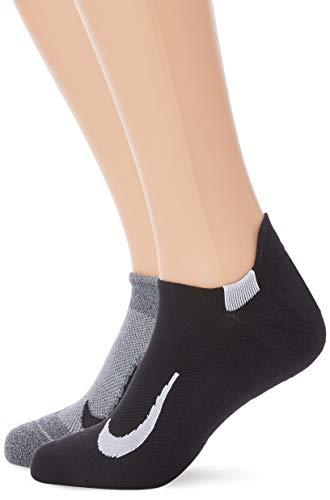 Nike Unisex Erwachsene Sneakersocken (2 Paar), Mehrfarbig (914), XL
