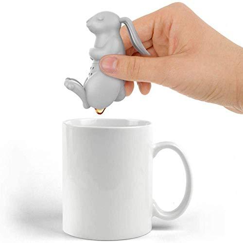 Alihoo Tee Infuser, 2-Stück Silikon teesieb teeei teefilter Tea...