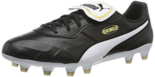 PUMA Unisex KING Top FG Fußballschuh, Schwarz Black White, 42.5 EU
