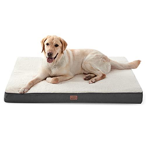 Bedsure Hundekissen flauschig Grosse Hunde - orthopädisches Hundebett...