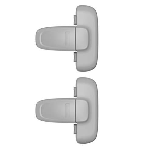 Kidnefn Home Kühlschrank Kühlschrank Gefrierkombination Türschloss,...