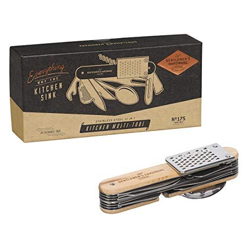Gentlemen's Hardware 12-in-1 Küchen-Multifunktionswerkzeug aus...