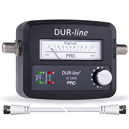 DUR-line® SF 2400 Pro - Satfinder - NEU - Messgerät zum exakten...