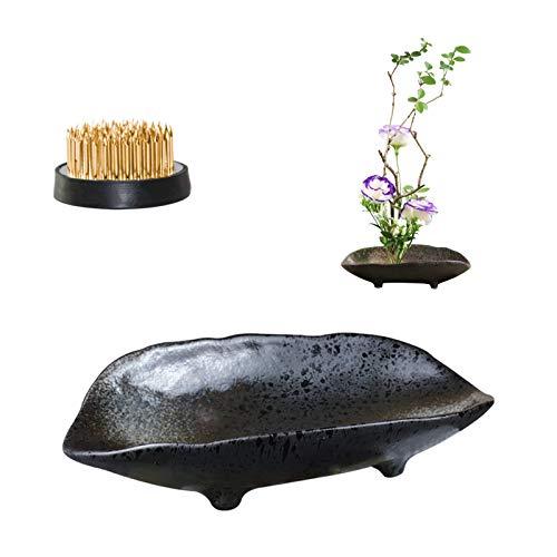 WANDIC Blumenarrangement-Zubehör, Boots-Form, Ikebana-Vasen aus...