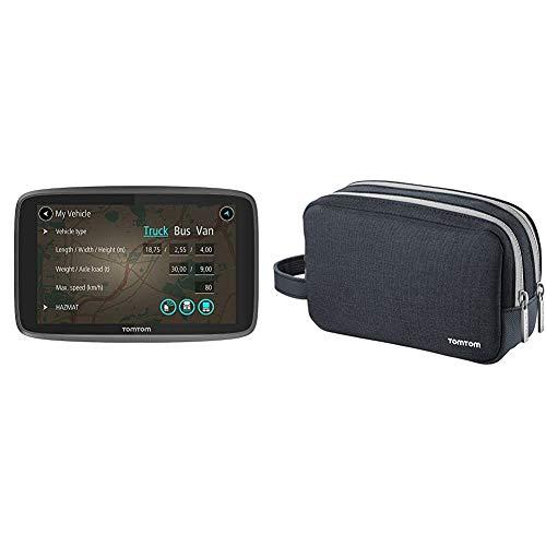 TomTom LKW Navigationsgerät GO Professional 520 (5 Zoll) &...
