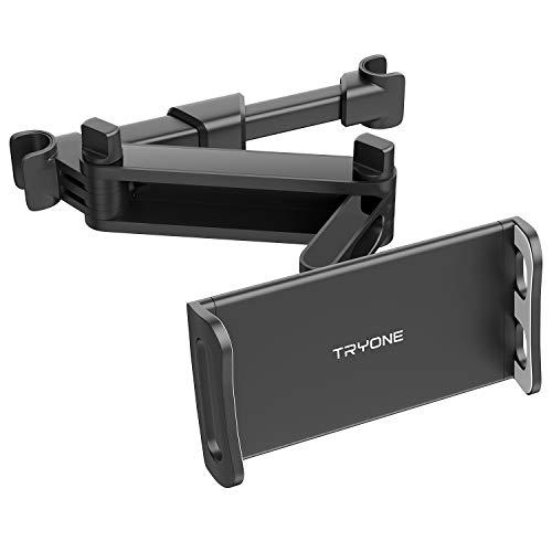 Tryone Tablet Halterung Auto, Tablet Halter Kopfstütze - Ausziehbare...