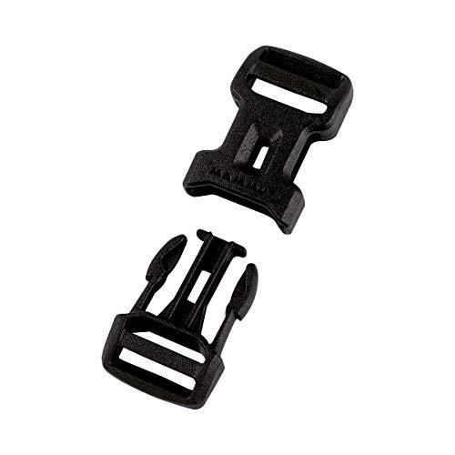 Mammut Dual Adjust Side Squeeze Buckle Ersatz-steckschnalle, Black, 20...