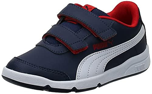 PUMA Unisex Kinder Stepfleex 2 SL VE V PS Sneaker, Peacoat White-Flame...