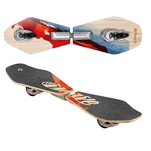 Streetsurfing Street Surfing Wooden Waveboard Wave Rider-Abstract,...