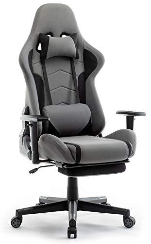 IntimaTe WM Heart Gaming Stuhl, Racing Gamer Stuhl Bürostuhl Stoff,...