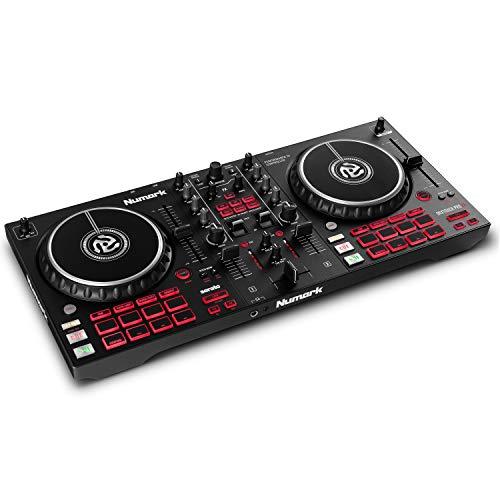 Numark Mixtrack Pro FX – 2 Deck DJ-Controller für Serato DJ mit...