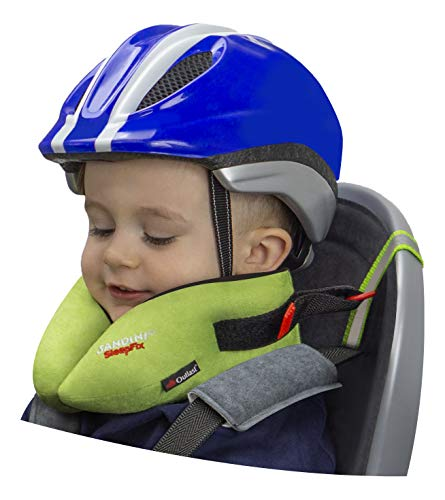 SANDINI SleepFix® Kids Bike – Kinder Schlafkissen/Nackenkissen mit...